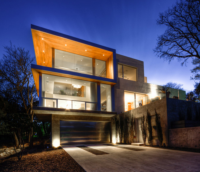 30 best modern house architecture designs designgrapher com for Best architect design for home