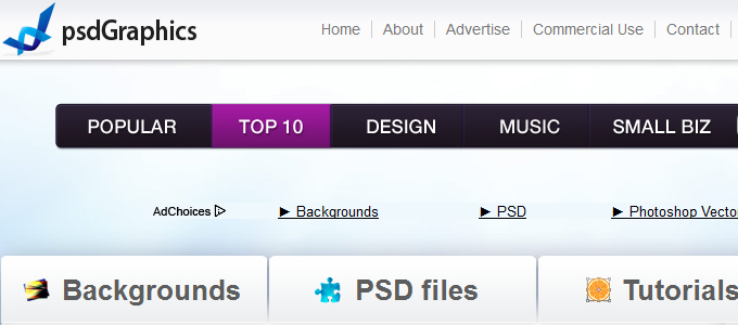 psd-websites