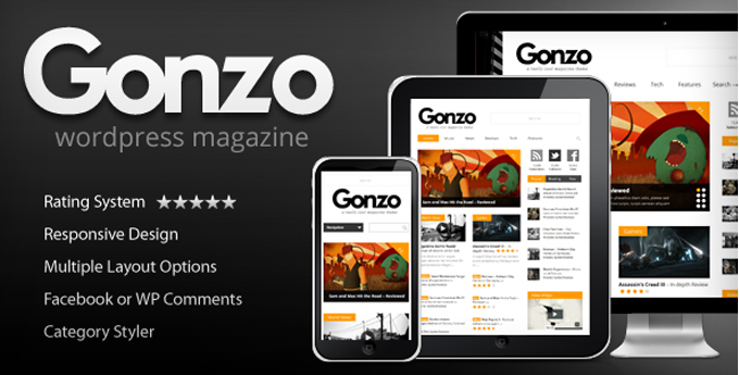 Wordpress Magazine Theme1 20 Best Wordpress Magazine Themes
