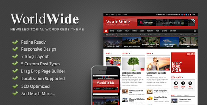 Wordpress Magazine Theme10 20 Best Wordpress Magazine Themes