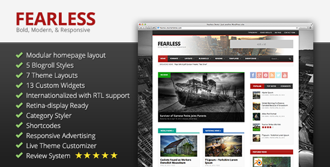 Wordpress Magazine Theme12 20 Best Wordpress Magazine Themes