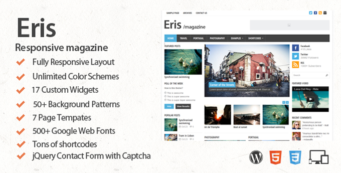 Wordpress Magazine Theme17 20 Best Wordpress Magazine Themes