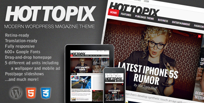 Wordpress Magazine Theme19 20 Best Wordpress Magazine Themes
