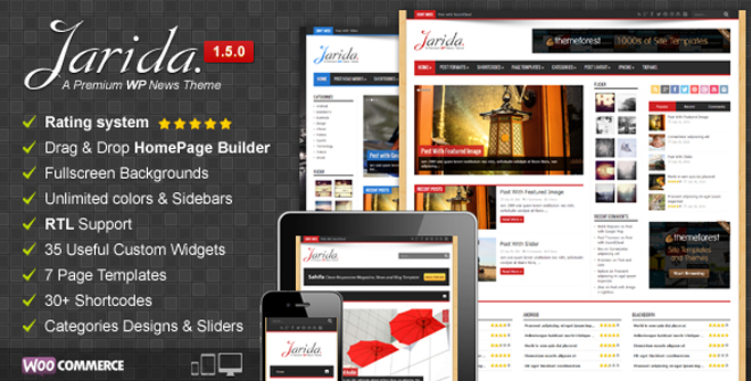 Wordpress Magazine Theme2 20 Best Wordpress Magazine Themes