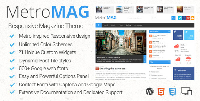 Wordpress Magazine Theme5 20 Best Wordpress Magazine Themes
