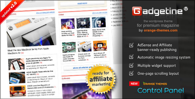 Wordpress Magazine Theme6 20 Best Wordpress Magazine Themes