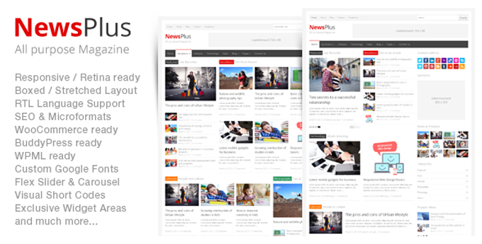 Wordpress Magazine Theme7 20 Best Wordpress Magazine Themes