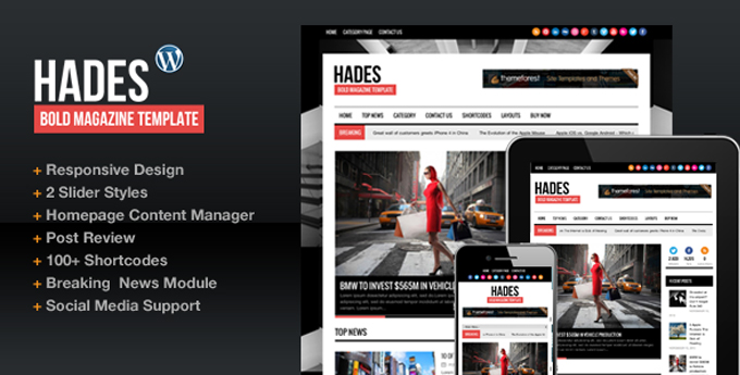 Wordpress Magazine Theme8 20 Best Wordpress Magazine Themes