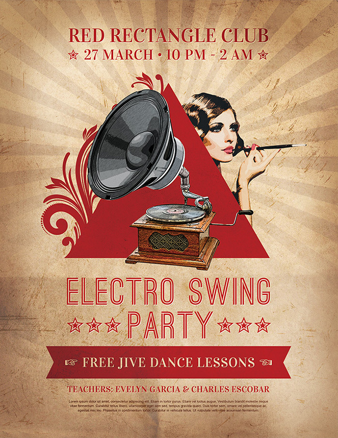 electro-swing-party