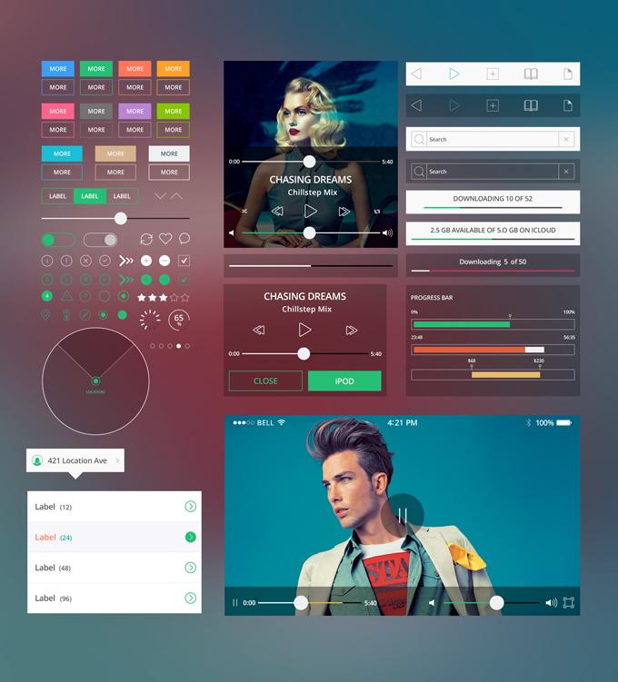 Modern-Mobile-App-Freebie
