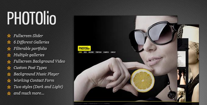 Photography WordPress Themes