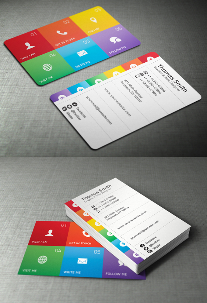 Business Card Designs - 30 Best Ideas for you - DesignGrapher.Com