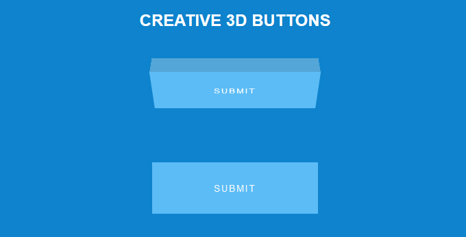 CSS3 Button Examples