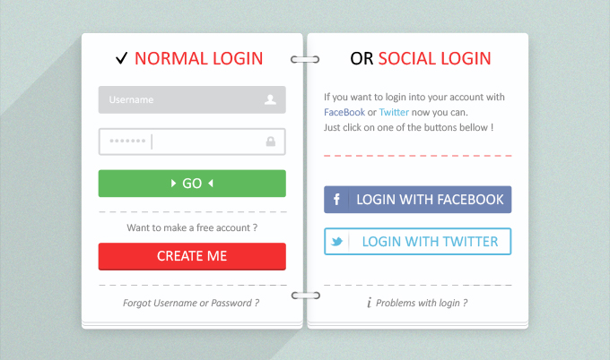web forms psd
