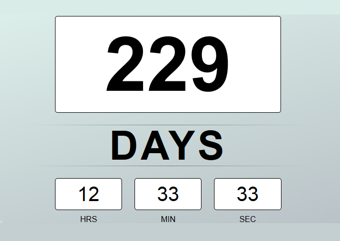 CSS3-And-Jquery-Countdown-Timer