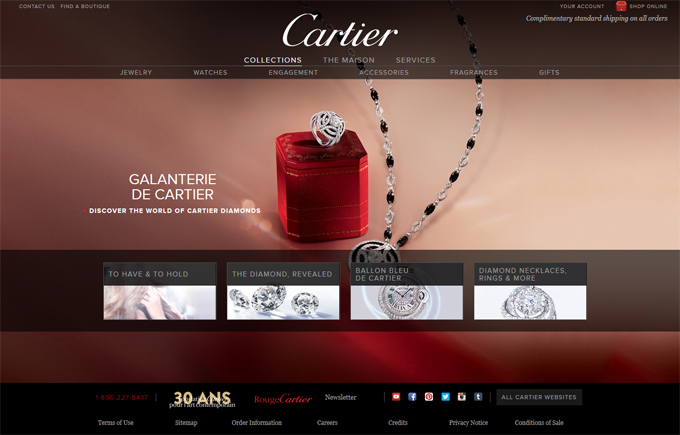 Jewellery Website Designs